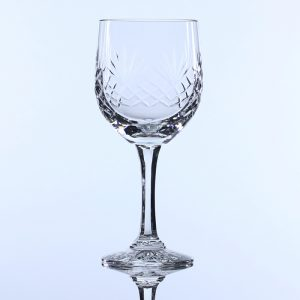 Lead Crystal Wine Glass