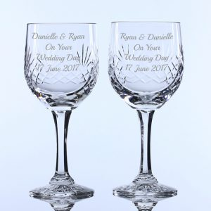 Lead Crystal Wine Glasses