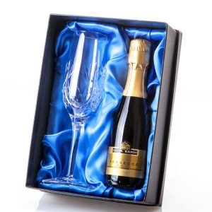 Lead Crystal Single Champagne Flute