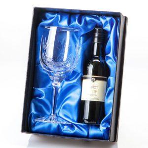 Lead Crystal Single Wine Goblet