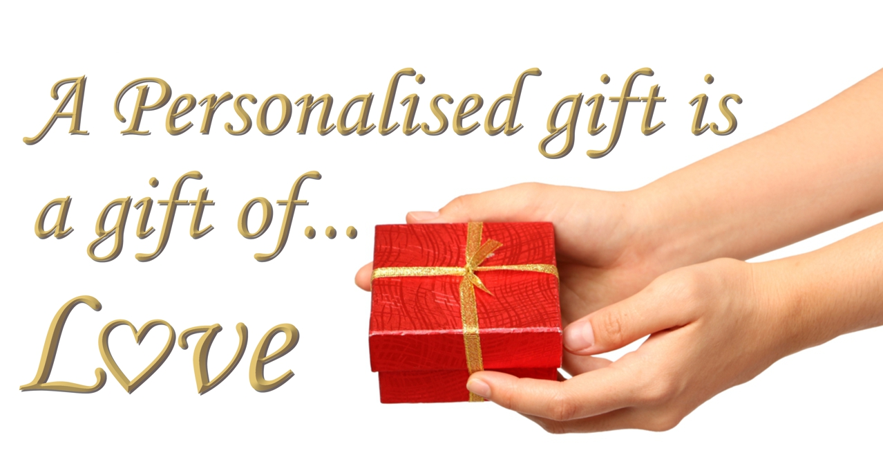 Personalised Gifts for Love Slider
