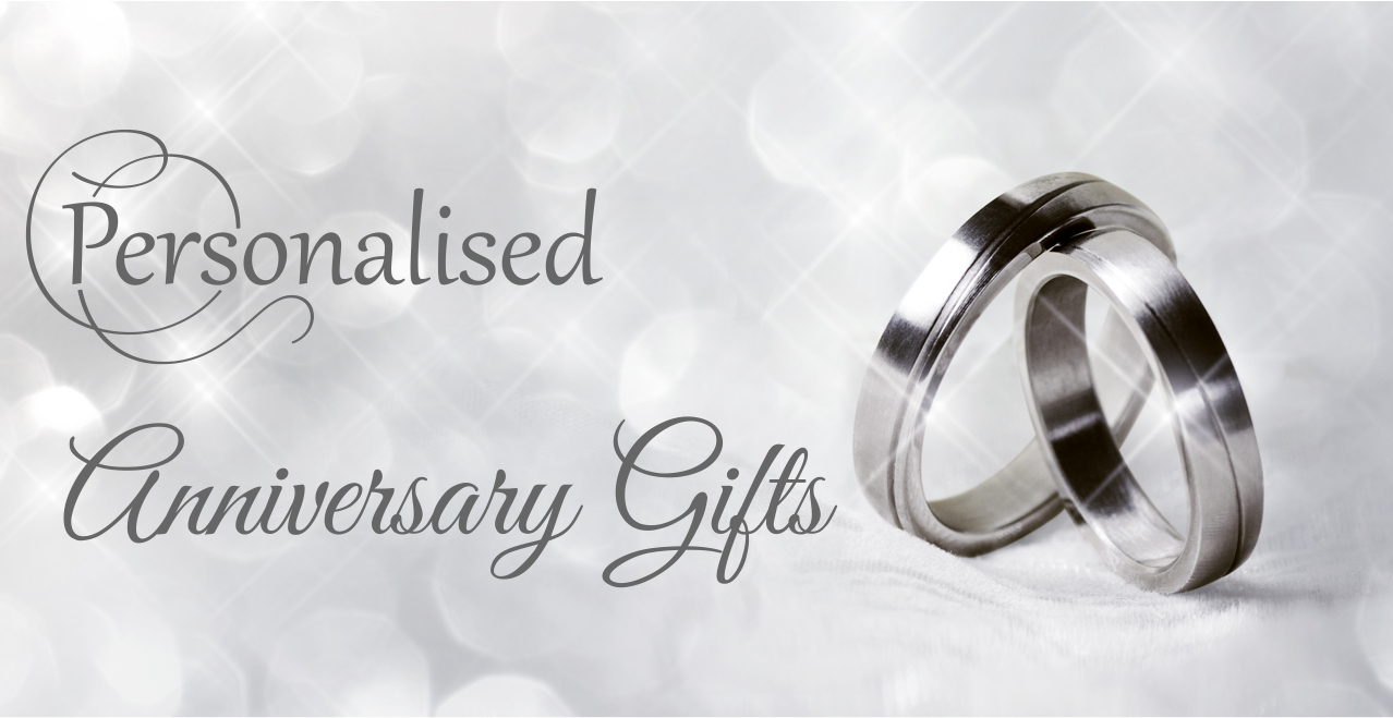 Personalised Anniversary Gifts Slider