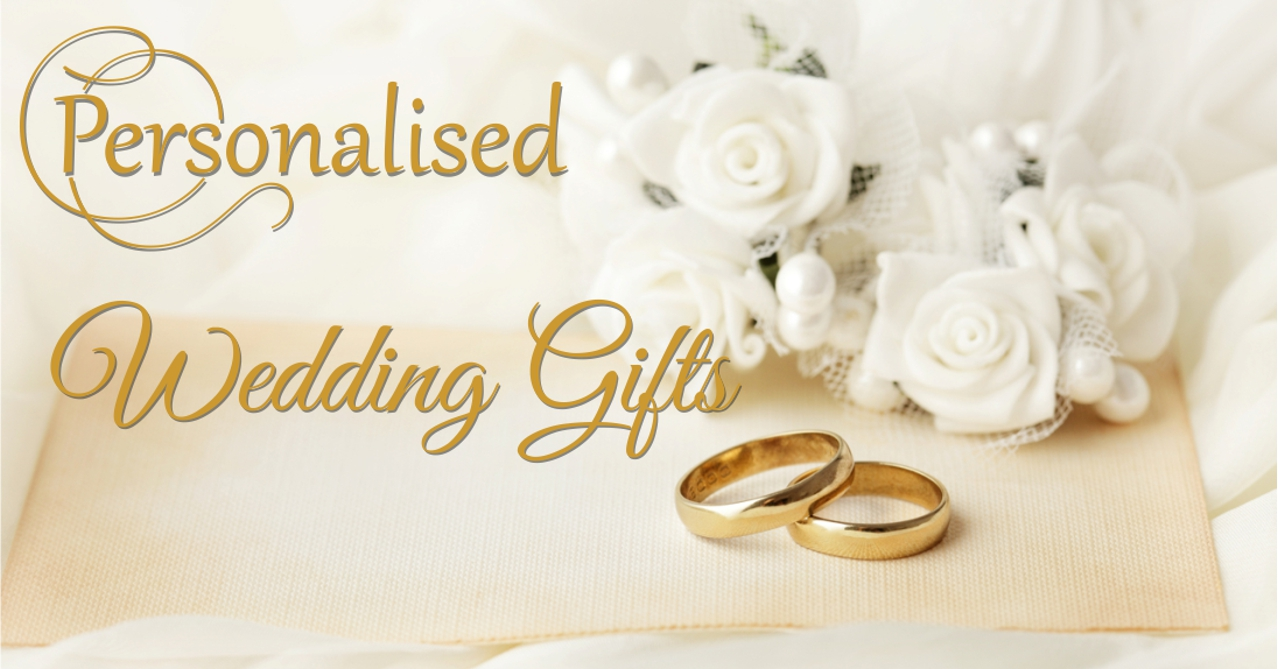 Personalised Wedding Gifts Slider