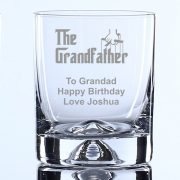 Personalised Whisky Tumbler the Grandfather Gift