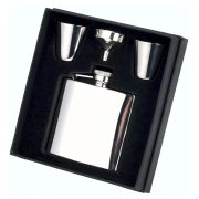 4oz Stainless Steel Hip Flask Gift