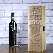 LWB113-personalised-vintage-auntie-birthday-laser-engraved-wooden-wine-champagne-box